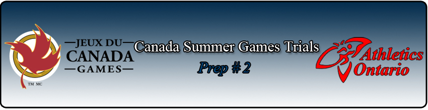 AO Canada Summer Games Trials
